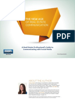 The New Age of  Real Estate Communication