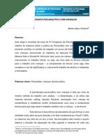 TECNICAS PSICANALITICAS CRIANÇAS