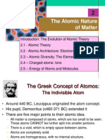 CH 2 Atomic Theory