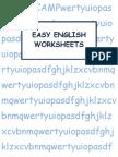 2wc Easy English Worksheet