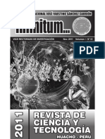 Revista Infinitum Nov. 2011. Vol. I. N°1