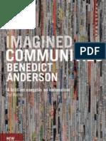 ANDERSON, Benedict. Imagined Communities