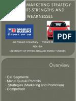144367171 12881447 Maruti Suzuki Market Strategy