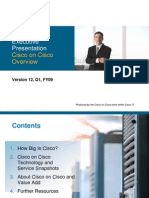 Cisco on Cisco Overview White