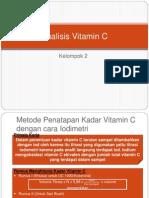 Analisis Vitamin C