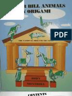 John Montroll - Dollar Bill Animals in Origami