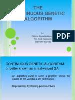 Continuous Genetic Algorithm