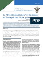 Drogas Despenalización