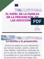 El papel de la Familia en la Prevención de Adicciones2da