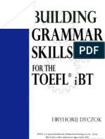 English Grammar Skills for the TOEFL iBT