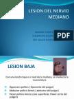 20. Lesion Del Nervio Mediano y Cubital