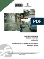 Analisis Movilidad Moravia