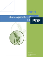Ghana Agriculture Review July 2013