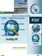 Tutorial de Introduccion Al Arcmap