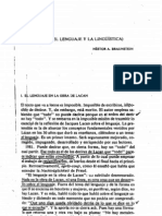 Braunstein Nestor, Linguisteria