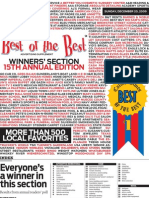 Best of the Best 2009 - Winner's Section