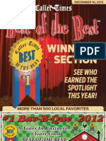 Best of the Best 2012 - Winner's Section