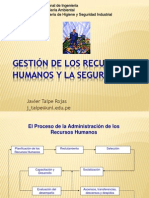 11. Gestión de los Recursos Humanos y la Seguridad (1)