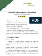 Procedura Registrul Cartea Mare v.21.02.2012