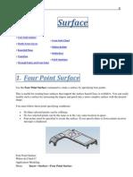 Unigraphics NX8 - Surface