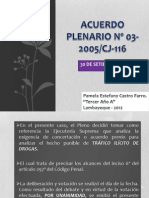 ACUERDO PLENARIO Nº 03-2005- PAMELA ESTEFANY CASTRO FARRO
