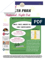 Teralta Nite Out Flyer