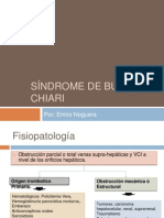 Síndrome de Budd - Chiari
