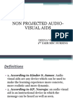 Ppt Non Projected Av Aids