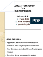 Tetrasiklin Dan Kloramfenikol.ppt
