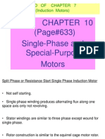 Chapter 10 Single Phase Motors EE 342