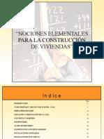 Nociones Elementales Para La Construcci%C3%B3n de Viviendas