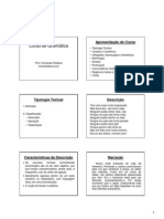 Curso de Gramática - Módulo I - Tipologia Textual - Aula 01