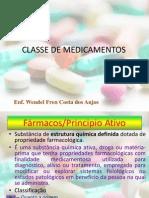 Classes de Medicamentos