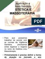 Palestra Legalização e Alvarás Massoterapia 20 06 13