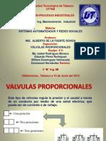 VALVULAS PROPORCIONALES