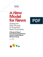 A New Model for News - AP, 2008