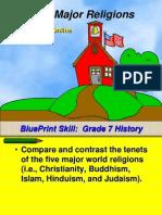 7th-5religions