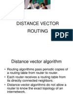 Distance Vector Linkstate