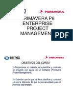 Primavera p6 Enterprise Project Managemet Pagina
