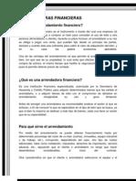 ARRENDADORAS FINANCIERAS (1)