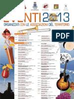 Città di Pescina - Calendario eventi 2013
