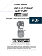 Hydraulic  Pump Manual
