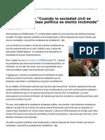 Elmostrador.cl-gabriel Salazar Cuando La Sociedad Civil Se Manifiesta La Clase Poltica Se Siente Incmoda