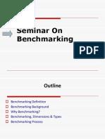 Seminar on Benchmarking