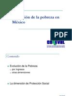 Evolucion de La Pobreza en Mexico