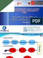 3 Situación de las EPS y la gestión ambiental en Perú - GLS 131112 Ing Leon