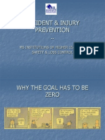 Accident Injury Prevention