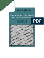 Barclay Palabras Griegas Del NT