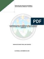 Procesal Penal San Carlos
