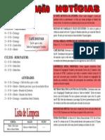 Programação Agosto 13